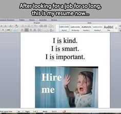This is my resume now...