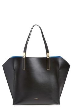 Free shipping and returns on Lodis 'Blair Collection - Lucia' Leather Tote at Nordstrom.com. Smooth leather highlighted by sleek gilded hardware extends the sophistication of this beautifully structured tote from Lodis. An optional zip-top pouch protects and organizes your essentials.