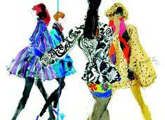 A Couture Life...: Favorite Fashion Illustrators: Kenneth Paul Block