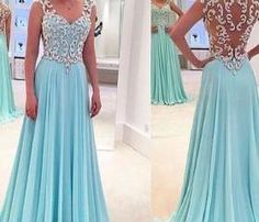 High quality beading prom gowns,a line evening formal dress,sexy evening gowns,sheer back formal dress,elegant long dress,modest party dresses