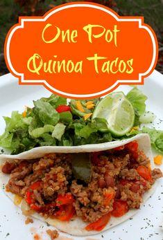 One Pot Quinoa Tacos