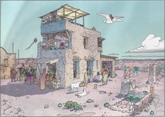 "orano: "" Moebius - ""Montrouge Mystery"" 2001 Illustration 7 Stardom Edition """