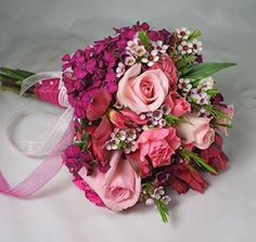 burgundy, pink, and peach bridal bouquet - Google Search