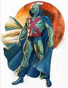 Martian Manhunter by Alex Ross ♥ ♥ Please feel free to repin ♥♥ http://unocollectibles.com