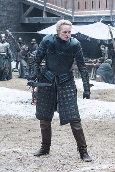 Brienne of Tarth in Game of Thrones Season 7 Game Of Thrones Premiere, Game Of Thrones Tv, Winter Is Here, Winter Is Coming, Medici Masters Of Florence, Brienne Of Tarth, Lady Brienne, Jaime And Brienne, Game Of Trones