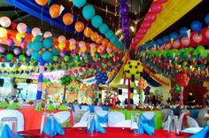 Lucia's Pista sa Nayon Themed Party: Venue Decor Fiesta Party Decorations, Fiesta Theme Party, Theme Parties, 70th Birthday Parties, 1st Boy Birthday, Filipino, Filipiniana Wedding Theme, Christmas Party Themes, Back Home