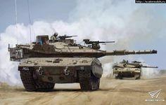 Анонс Meng-Model 1/35 Merkava Mk.4M и M911+M747