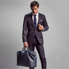 Man And Bag - #ThrowBagThursday | Say dapper with a clean and smart look from @hugoboss