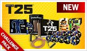 Focus T25 Challenge Pack ... All you need is 25 min/day, 5 days/wk to change the way you look and feel. To order...go to website below and click on Challenge Pack link. $205