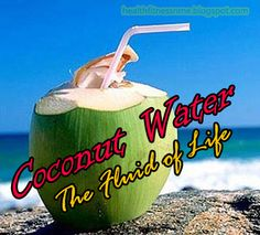 Health,Fitness and Me: Coconut water –The Fluid of Life Healthy Eating Recipes, Healthy Tips, Healthy Meals, Fitness Diet, Health Fitness, Coconut Water Benefits, Eating Light, Coconut Recipes, Healthy Juices