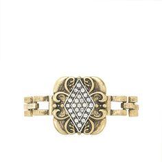 Lulu Frost for J.Crew deco diamond bracelet