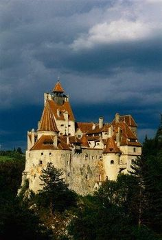 Dracula's Castle in Romania: Castelul Bran; situated near Bran and in the immediate vicinity of Braşov, is a national monument and landmark in Romania. Built in 1212, the fortress is situated on the border between Transylvania and Wallachia.No one lives there now, as it is a museum.