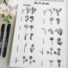 25 Easy Doodle Art Drawing Ideas For Your Bullet Journal - Brighter Craft Bullet Journal Aesthetic, Bullet Journal Notebook, Bullet Journal Ideas Pages, Bullet Journal Inspiration, Doodle Inspiration, Easy Doodle Art, Doodle Art Drawing, Drawing Ideas, Doodle Art For Beginners