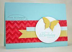 Scissors Paper Card: Farewell Coredinations Card Stock