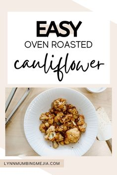 These are the best and easy oven-roasted cauliflower recipe out there! The olive oil helps the cauliflower crisp up and the cumin elevates its flavour! It is the perfect dinner recipe for vegan and vegetarian guests as well as the perfect side for all meals. The seasoning mix for this roasted cauliflower recipe is super easy and anyone can do it! Read the full recipe on Easy Roasted Cauliflower on the blog now! #roastedcauliflower #cauliflower #vegetarianmeal #veganmeal #vegetariansidedish Quick Vegetarian Meals, Vegetarian Side Dishes, Vegan Recipes Beginner, Recipes For Beginners, Oven Roasted Cauliflower, Cauliflower Recipes, Vegan Options, Dinner Recipes, Cooking