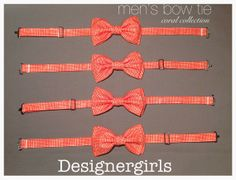 Coral collection men's adjustable double stacked by designergirls, $23.99