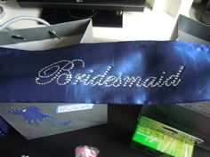 Bridesmaid sashes for Christina Hatfield's hen weekend.