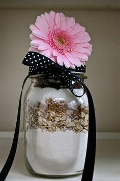 Quick bread in a mason jar!