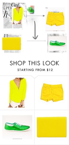 """""""corn"""" by alexismaileen on Polyvore featuring beauty, Whiteley, Balmain, Dream a Dream, J.Crew and Smythson"""