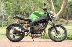 Foto Modifikasi Motor Jadul Keren Group 2016