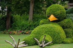 Изготовление садовых фигур