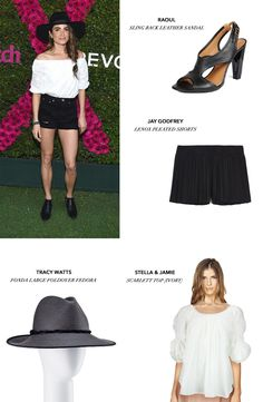 Nikki Reed is a wonderful multi-talented actress who has impeccable taste in clothes. This look has a subdued elegance and relaxed feel that would put you right at home in all but the swankiest of events. Swap the heels for some flats for an even more relaxed, street-inspired style. Use code STREETSTYLE for 25% off a purchase. Valid 06/1/2015 - 06/11/2015 #Zindigo #Coachella #GetTheLook #KerriReed