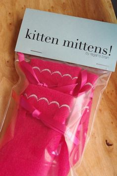 Is your pesky cat stomping around the house all night keeping you up? You need some kitten mittens!