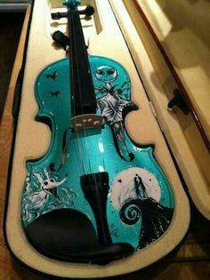 A Nightmare Before Christmas I don't play violin but I need this!