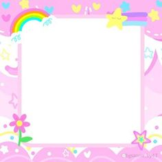 Aesthetic Template, Aesthetic Stickers, Aesthetic Backgrounds, Cute Pastel Wallpaper, Kawaii Wallpaper, Rainbow Aesthetic, Retro Aesthetic, 2048x1152 Wallpapers, Pastel Galaxy