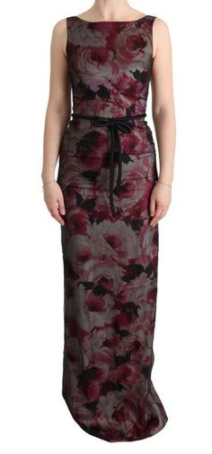 Dolce & Gabbana Gorgeous brand new with tags, Authentic Dolce & Gabbana dress. Model: Full length sheath gown Color: Black with multicolor Gown Pattern, Dress Patterns, Long Formal Gowns, Formal Dresses, Derby Dress, Designer Dresses, Fashion Brands, Dresses For Work, Summer Dresses