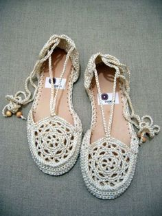 Crocheted Shoes - Maggie's Crochet Blog