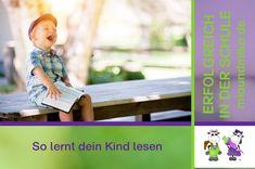 Hier zeige ich dir, wie dein Kind Lesen lernen wird. Ich erkläre dir, wie es geht und wie du dein Kind unterstützen kannst.