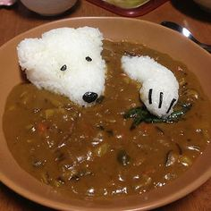 Polar Bear Curry and many more cute meals for the kids
