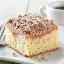 Gluten Free Cinnamon-Streusel Coffeecake made with baking mix: King Arthur Flour