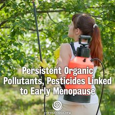 New study out of Washington University School of Medicine in St. Louis found that women whose bodies have high levels of chemicals, including three pesticides, experience menopause two to four years earlier than women with lower levels of the chemicals. More here: http://www.cornucopia.org/2015/02/persistent-organic-pollutants-pesticides-linked-early-menopause #organic #menopause #womenshealth #food