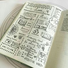 The beauty of the Bullet Journal system is its flexibility and adaptability. Here's 12 productivity hacks to take your Bullet Journal to the next level! Bullet Journal Book, Bullet Journal Banners, Bullet Journal Junkies, Journal Pages, Bullet Journals, Smash Book, Sketch Notes, Journal Inspiration, Journal Ideas