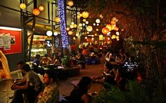 Prithvi Cafe: A bohemian cafe on a large, shady terrace attached to the Prithvi  Theatre that's something of a cultural hub of intellectuals, artists and  theatre types. The snacky food (croissants, sandwiches, chaat and  Punjabi standards) is OK, but it's the setting that's special.