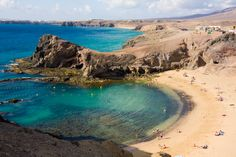 Papagayo beach en Lanzarote
