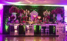 Flores, flores e mais flores! A festa da Anna Carolina Vanelli recebeu uma decoração superdelicada