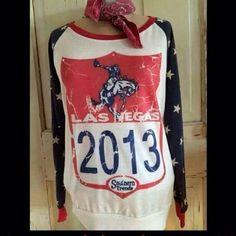 NFR 2013 American Long Sleeve Shirt