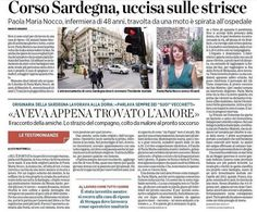 SCRIVOQUANDOVOGLIO: GENOVA:INFERMIERA SARDA MUORE INVESTITA DA MOTO (1...