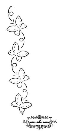 vintage butterflies embroidery pattern vintage butterfly embroidery pattern for personal use. Embroidery Patterns Free, Embroidery Applique, Cross Stitch Embroidery, Quilt Patterns, Machine Embroidery, Embroidery Designs, Embroidery Sampler, Embroidery Blouses, Embroidery Jewelry