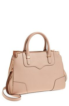 Rebecca Minkoff 'Amorous' Satchel | Nordstrom. Just got this on sale from the Nordstrom anniversary sale and I just adore the rose gold accents!