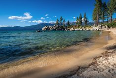 Here are some of the best Lake Tahoe beaches for families to enjoy swimming, water play, and relaxing around the Lake Tahoe Basin. Kings Beach Lake Tahoe, Lake Tahoe Camping, Lake Tahoe Skiing, Sand Harbor Lake Tahoe, Lake Tahoe Map, Lake Tahoe Summer, Lake Tahoe Resorts, Lake Tahoe Vacation, Lake Tahoe Nevada