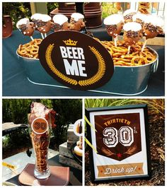 Dirty Thirty 30th Birthday Beer Bash - B. Lovely Events