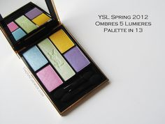 The Ombres 5 Lumieres Palette in 13 for YSL's Spring 2012 Candy Face Collection