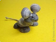 Зверушки из ракушек мастер класс, поделки Seashell Ornaments, Seashell Art, Seashell Crafts, Sea Crafts, Nature Crafts, Shell Animals, Seashell Projects, Shell Decorations, Beach Wedding Centerpieces