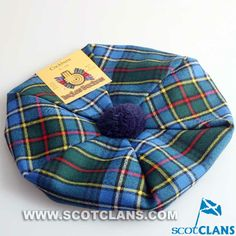Clan Cockburn Wool Tartan Tam