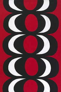 Kaivo cotton fabric by Marimekko
