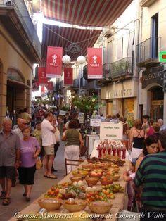 Fira a Valls  Prov.  Tarragona  Catalonia